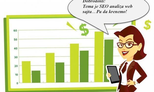 SEO analiza web sajta