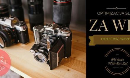 Kako optimizovati slike za web (internet)