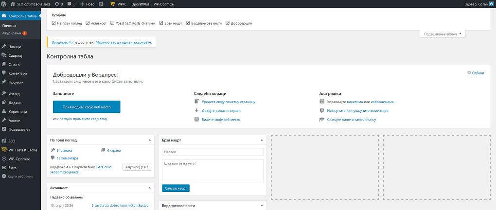 WordPres-CMS
