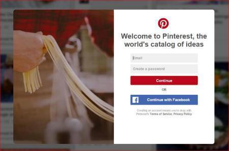 pinterest - društvena mreža