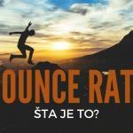 Šta je to bounce rate