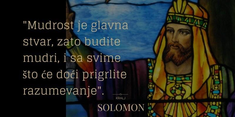 Šta je to SoLoMo - pouka-mudrost-glavna-stvar-Solomon