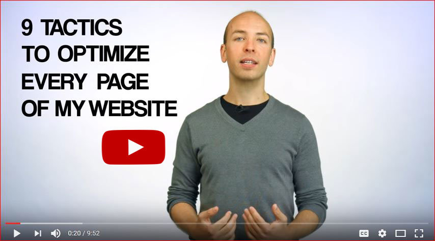 video on page seo optimizacija - backlinko