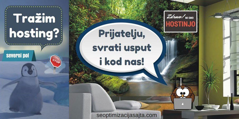 Najbolji hosting za SEO sajta - potraga