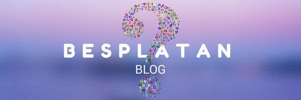 Blog na sajtu - besplatno