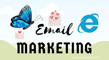 Blog na sajtu - email marketing