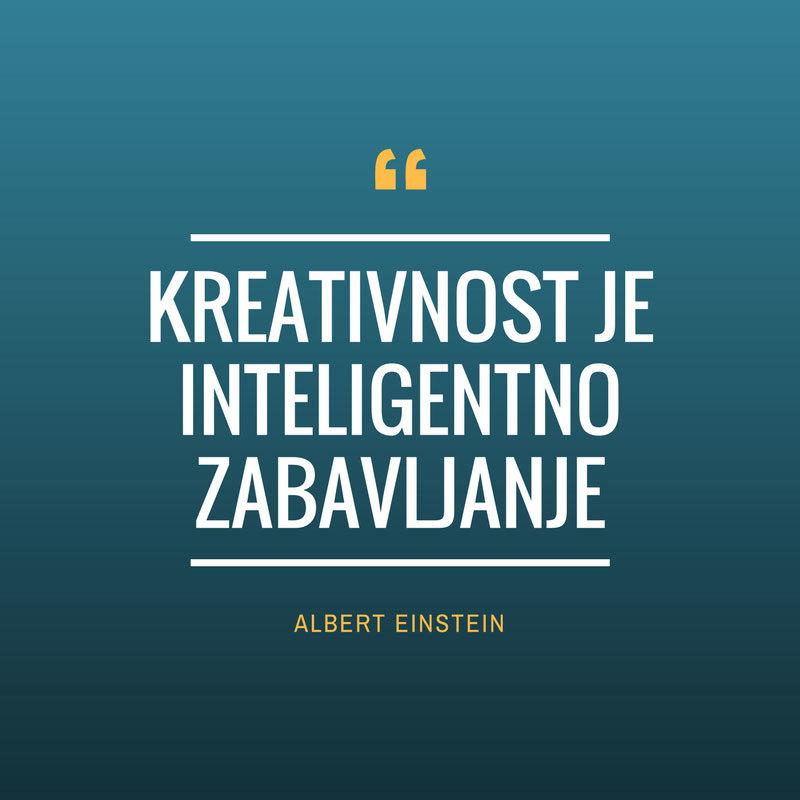 Blog na sajtu - kreativnost