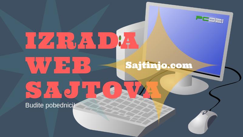Izrada sajtova koji rade za Vas