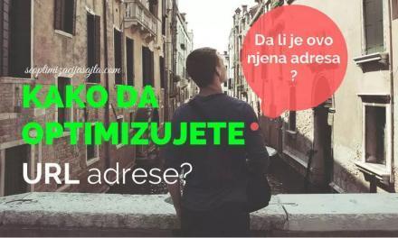Kako se radi SEO optimizacija URL
