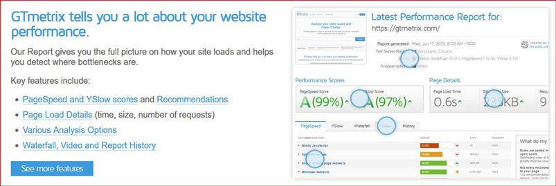 Kako ubrzati sajt? Gtmetrix za proveru brzine sajta