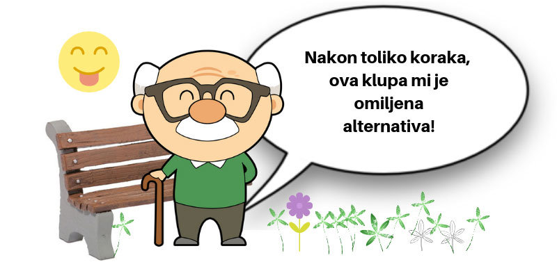 omiljena alternativa