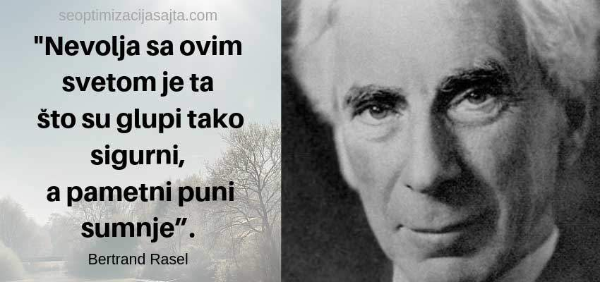 Bertrand Rasel - izreka