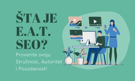 Šta je E-A-T SEO?