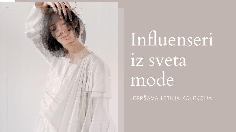 SEO trendovi 2020 - Influenseri iz sveta mode