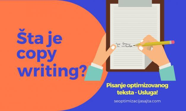 SEO Copywriting značenje