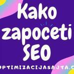kako započeti SEO sajta?